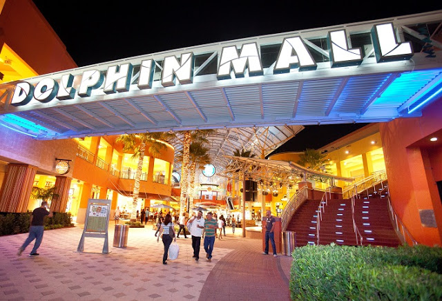 Compras en el Shopping Dolphin Mall en Miami