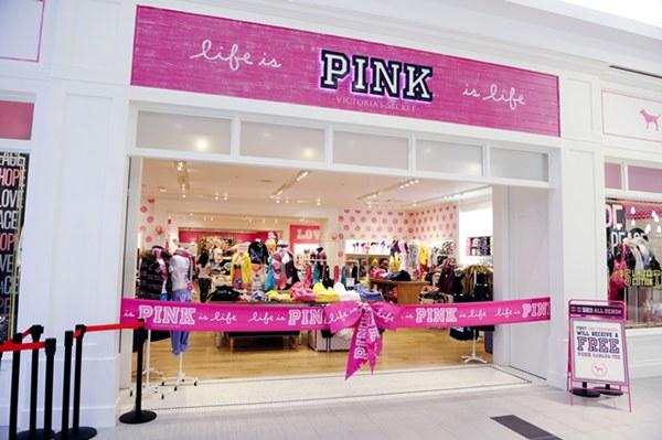 La marca Pink de Victoria's Secret